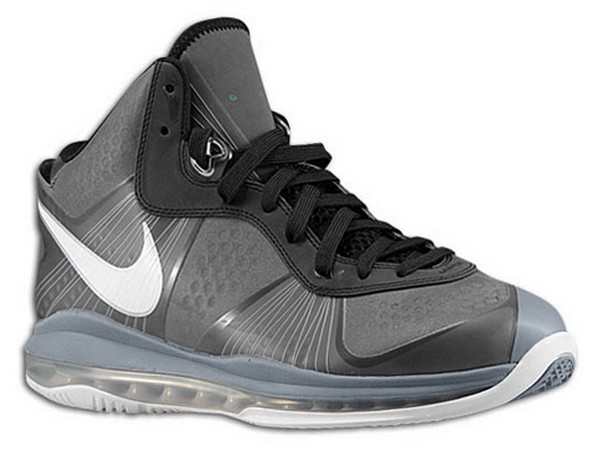 Nike Air Max LeBron 8 V2 BlackGreyWhite Coming Soon