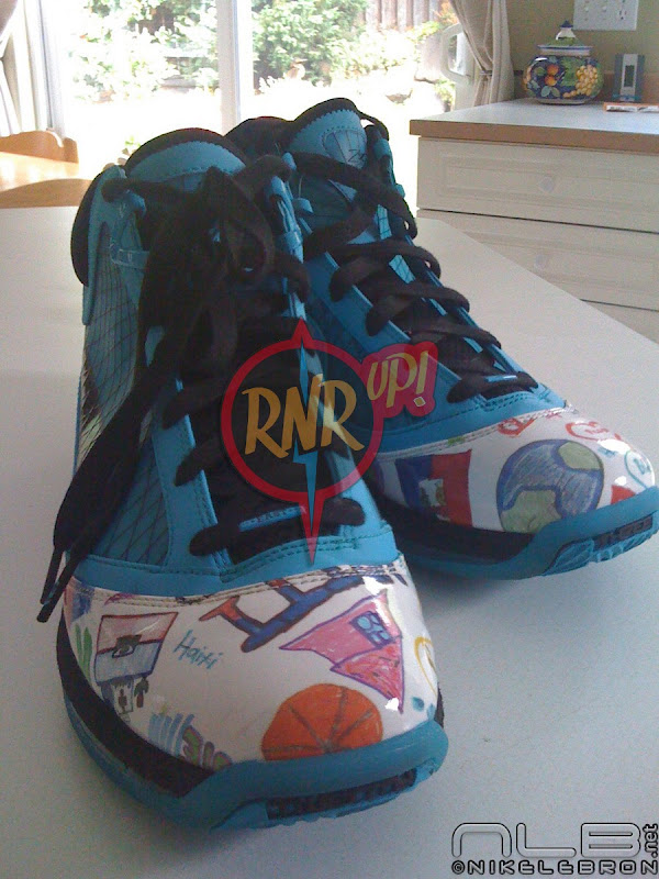 Leaked Nike Air Max LeBron VII 7 8220Kinbe Le8217 Page8221 Haiti PE
