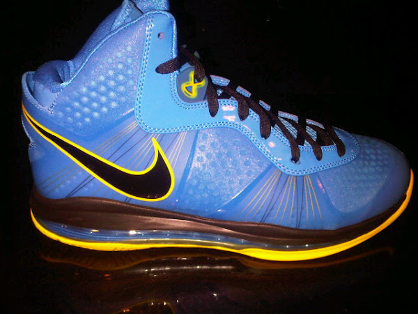 Leaked Nike Air Max LeBron V2 BlueYellowBlack 8220Entourage8221