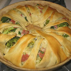 Ham and Broccoli Ring
