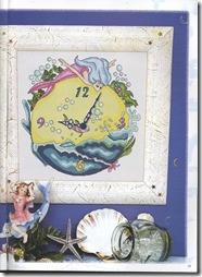 Ambientes en Punto de Cruz, Relojes 2 039