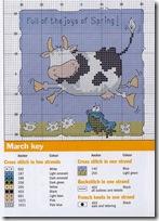 vaca punto de cruz (3)