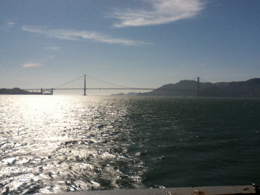 Golden Gate Bridge Astern