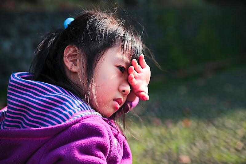 大女兒不愛照相排第二...