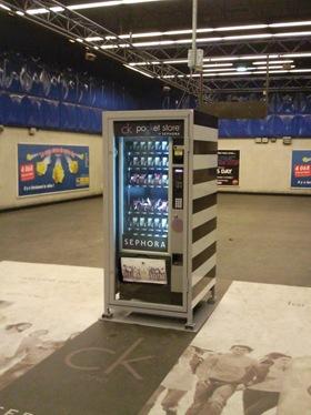 CK one Sephora metro paris suwbay dispenser