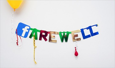 adieu facebook farewell