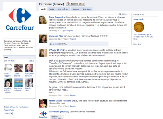 facebook carrefour strategie marketing2