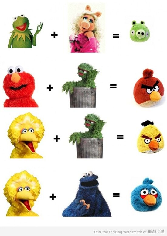 The truth behind the Angry Birds