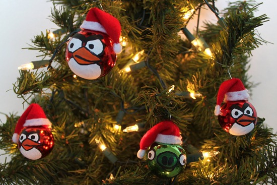 Angry Birds – Ornaments!