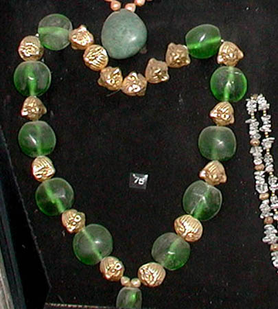 emerald necklace Museum of Gold Lima Peru M Burdet photo.jpg