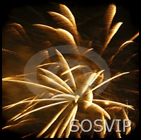 VIP fogos artifício