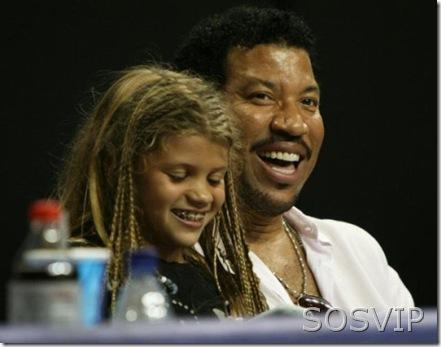 Lionel Richie e filha