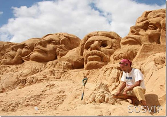 Esculturas de Areia (5)