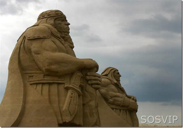 Esculturas de Areia (2)