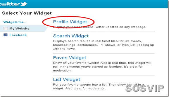 Twitter   Widgets1