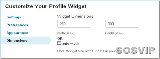 Twitter   Profile Widget5