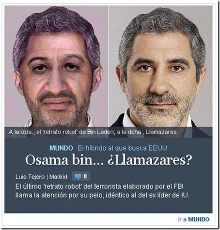 Llamazares Bin Laden