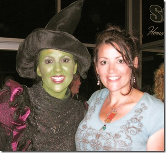 Lynnae and Wicked Witch diffuse glow