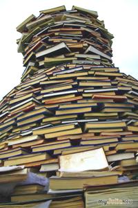 Очень много книжек