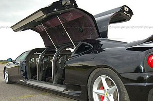 Ferrari 360 : Fastest Limo in the World