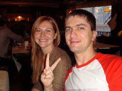 Аня и Денис Назаренко