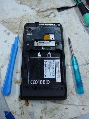 Ремонт Motorola Milestone он же Droid