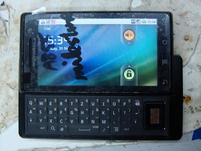 Заменить экран или тачскрин в Motorola Milestone можно своими руками