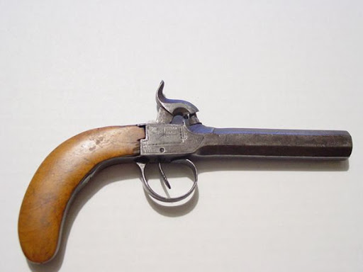 Help ID Pre Civil War Black Powder Pistol - Blackpowder & Musket