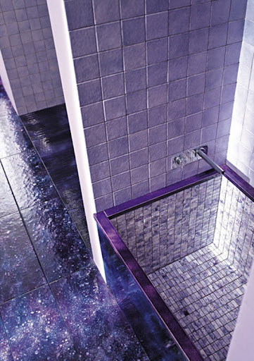 Purple Bathroom Design, Modern Bathroom