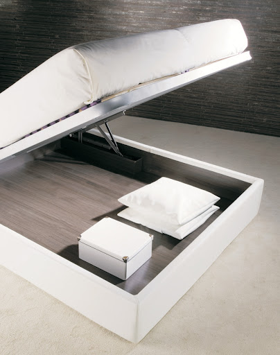 Squaring Penisola storage, storage bed, storage design of double bed
