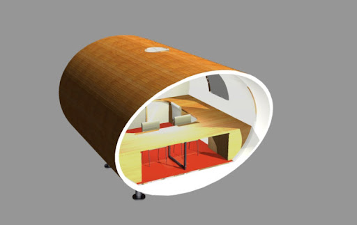 Image for The Orb - Unique Architect Home Office Design