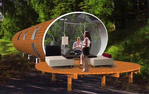 The Orb – unique Holiday Park Home Design