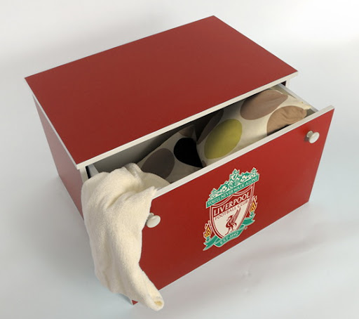 Image for Liverpool FC Bedroom Interior Design and Furniture
