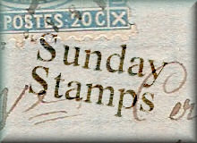 sunday stamps, stamps, USA
