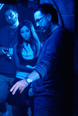 Darren Lynn Bousman and Alexa Vega
