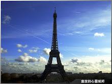 從夏佑宮眺望巴黎鐵塔