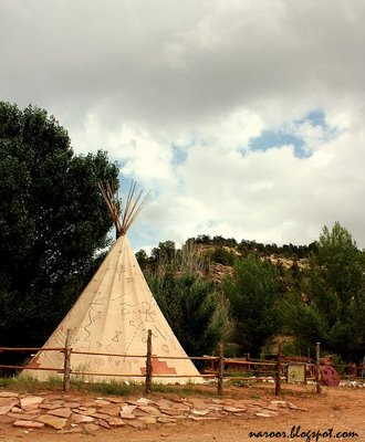 Tipis - in Bryce Canyon National park