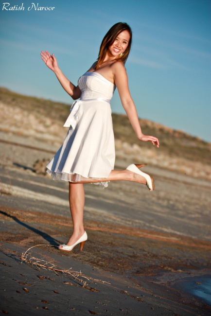 Fashion Photography at Antelope Island Utah