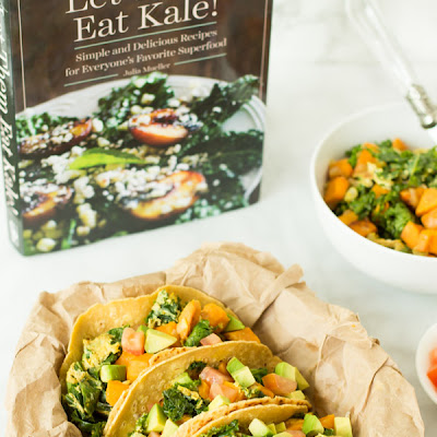 Superfood Breakfast Tacos + Let Them Eat Kale Giveaway