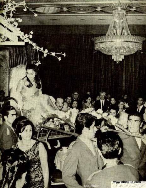 宗教革命之前的伊朗 好奢华的聚会,party,聚会