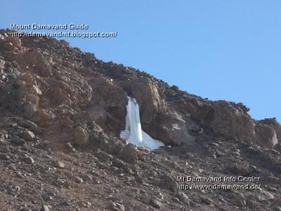 Icefall Damavand