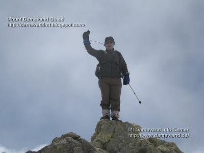 Mount Damavand Peak