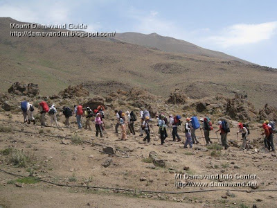 Summer Tour Mt Damavand Volcano