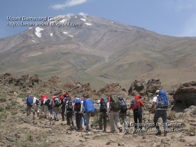 Mt Damavand summer tour