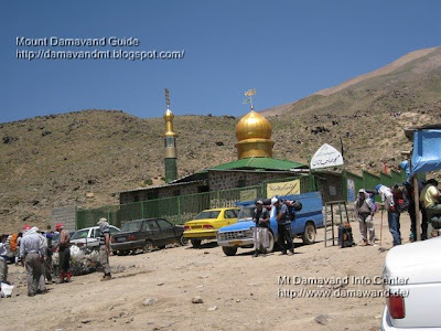 Accommodation in Mt Damavand Camp 2 Base  Goosfand Sara