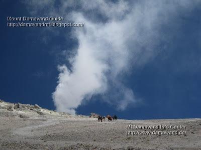 Mt Demavand Summit Volcanic Activity