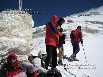 Fake Summit Mt Damavand Baam Jonobi, Photo by A.Soltani