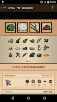 Screenshot of Food Guide for Don't Starve