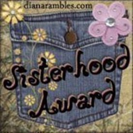 sisterhoodaward from Shelia for regular comments