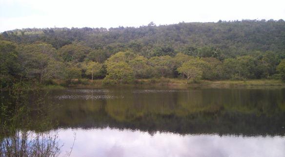 Lagoa da Tijucana, em Lençóis, Chapada Diamantina. Foto: Gladstone Barreto
